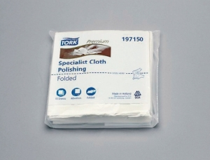 Tork Polishing Cloth (15 Sheets)