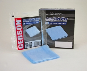 Gerson Base Coat Tack Rag Blue