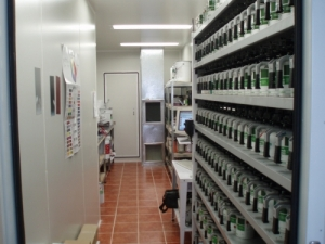 The 'ZODIAC' Paint Formulation Room
