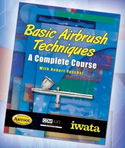 Book - Basic Airbrush Techniques - A complete course.