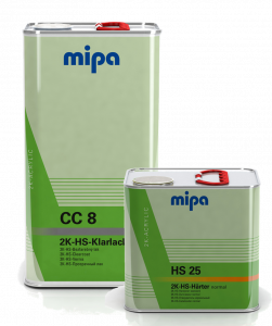 MIPA CC8 HS CLEARCOAT KIT