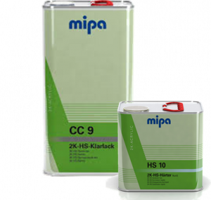 MIPA CC9 HS CLEARCOAT KIT - FAST