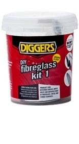 Diggers DIY Fibreglass Kit - (0.5m2 Mat)