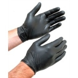 Black Examination Glove XL