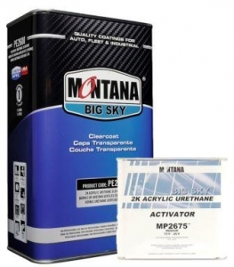Montana 2600 Clearcoat Kit - MEDIUM
