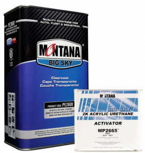 Montana 2600 Clearcoat Kit - FAST