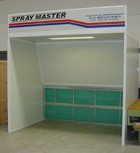 The 'SPRAYMASTER' Open Front Spray Booth