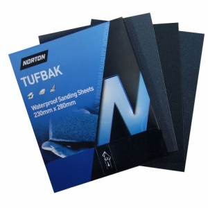 Norton Tufbak Wet &amp Dry Sandpaper